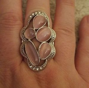 Cherished collection pink ring